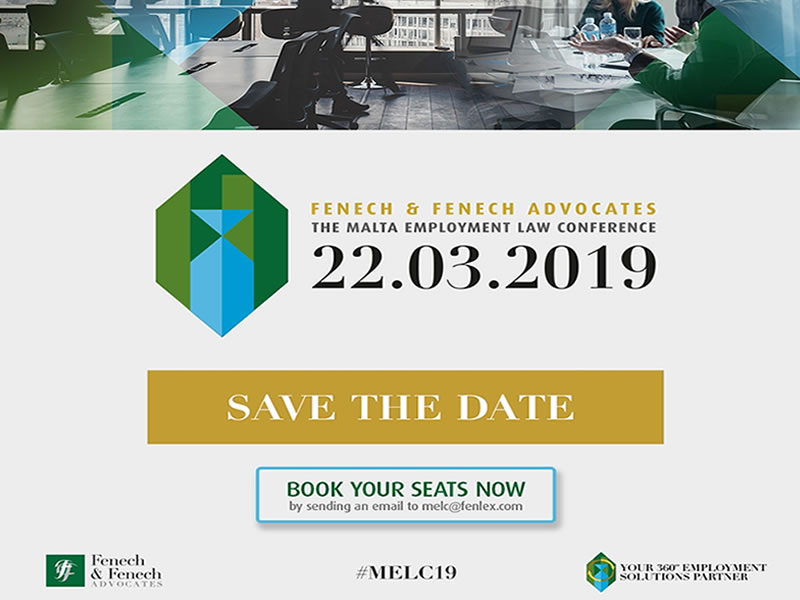 2019 edition of the Fenech & Fenech Malta Employment Law Conference