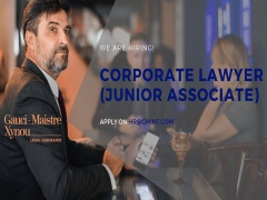Vacancy Corporate Lawyer Junior Associate