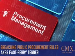 Breaching public procurement rules axes fast-ferry tender September 2019