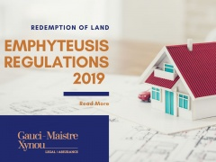Redemption of Government land under a title of revisable Perpetual emphyteusis Regulations, 2019