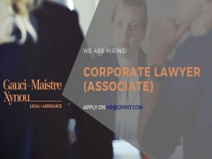 Vacancy Corporate Lawyer Associate