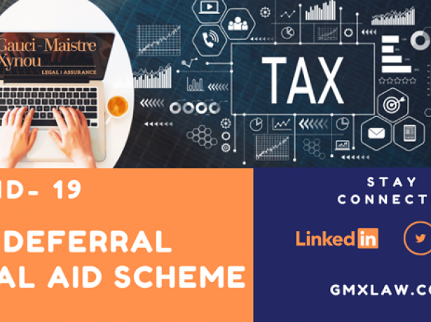 COVID 19 TAX DEFERRAL *Aid Scheme*